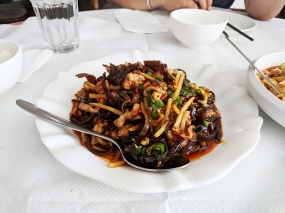 The Sichuan Chef: fish fragrant pork