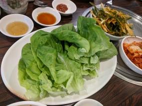 Sorabol, lettuce