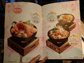 TeaWood, menu: hotpot