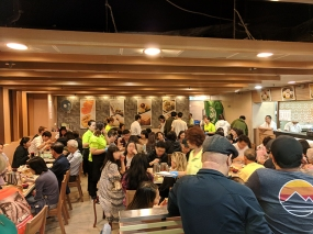 tim ho wan, dining room