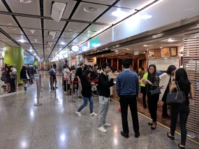 tim ho wan, line on arrival