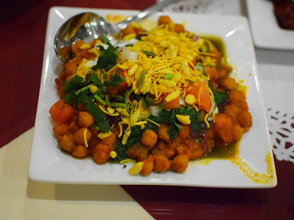 Darbar India Grill, Apple Valley, Alu tikki chaat