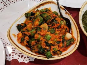 Darbar India Grill, Apple Valley, Amchuri bhindi