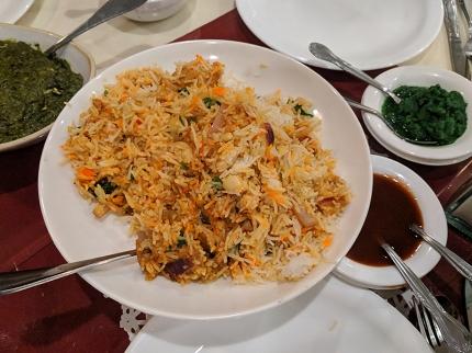 Darbar India Grill, Apple Valley, Chicken biryani
