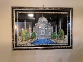 The inevitable Taj Mahal.