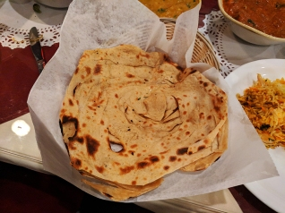 Darbar India Grill, Apple Valley, Lachha paratha