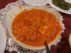 Darbar India Grill, Apple Valley, Malabar fish curry