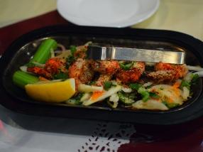 Darbar India Grill, Apple Valley, Malabar shrimp