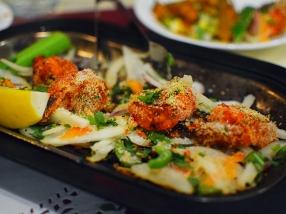 Darbar India Grill, Apple Valley, Malabar shrimp2