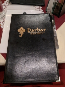 Darbar India Grill, Apple Valley, Menu