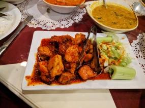 Darbar India Grill, Apple Valley, Orange-fig chicken tikka