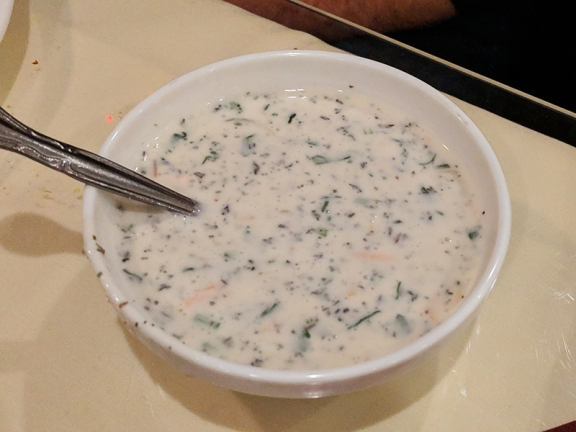 Darbar India Grill, Apple Valley, Raita