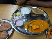 Highway Gomantak, Fish thali