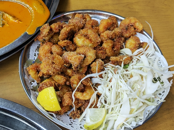 Highway Gomantak, Prawn fry