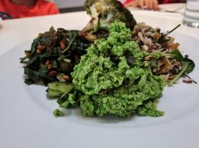Ottolenghi, Crushed peas, edamame