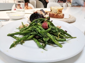 Ottolenghi, Green beans, samphire