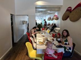 Ottolenghi, People eating breakfast