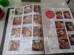 Rasa Sayang 2018, Menu, 3 course rasa meal
