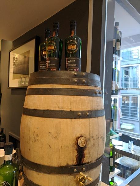 SMWS London, Bar cask