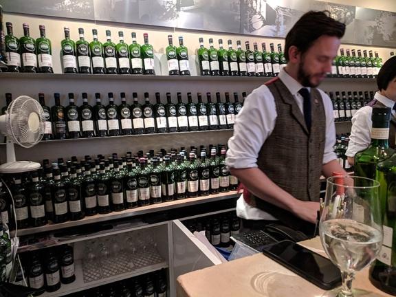 SMWS London, Bar