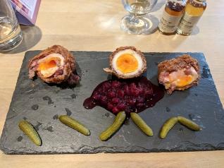 SMWS London, Scotch eggs