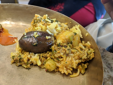 Soam, Khichdi close-up