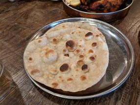 Tandoor Chop House, Tandoori roti