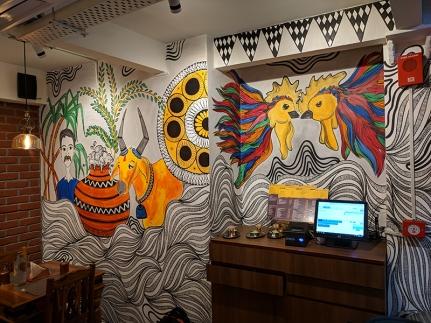 Bagundi, Wall paintings