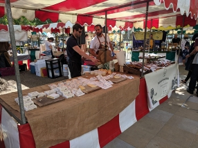 Duke of York's Square Market, Cheese and cured meats