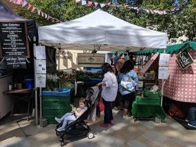 Duke of York's Square Market, Fresh veg