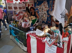 Duke of York's Square Market, More cheese and cured meats