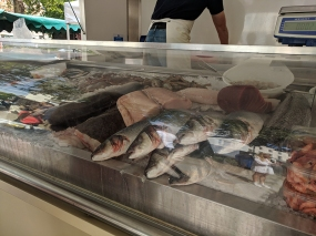 Duke of York's Square Market, More fish