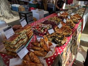 Duke of York's Square Market, Savoury pastries