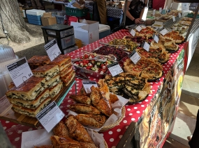 Duke of York's Square Market, Savoury pastries