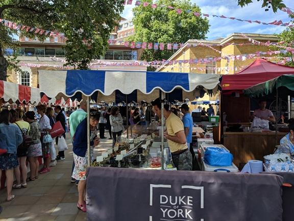 Duke of York's Square Market