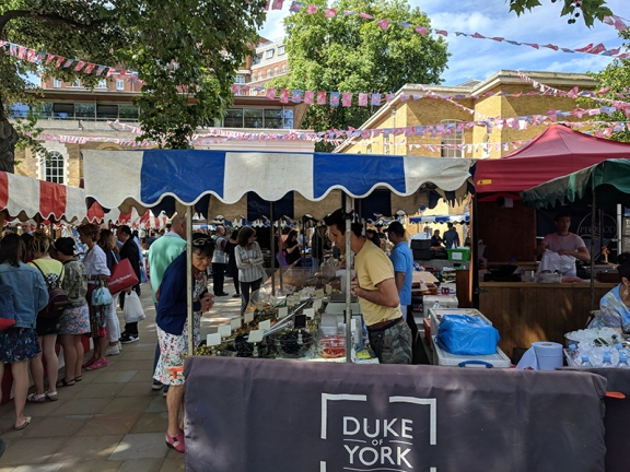 Duke of York's Square Market