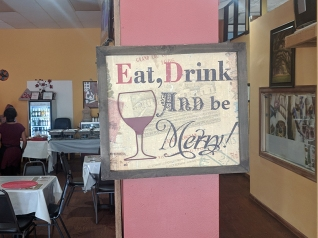 Ghebre's, Eat, Drink and Be Merry