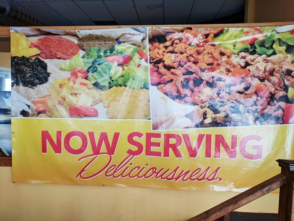 Ghebre's, Now Serving Deliciousness