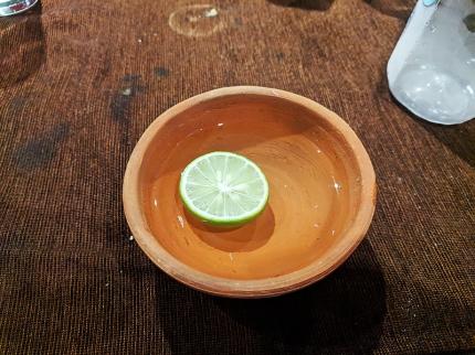 Handiwala, Finger bowl