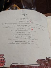 Handiwala, Menu, Kadai Se...veg
