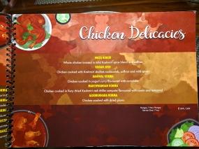 Khyen Chyen, Chicken Delicacies