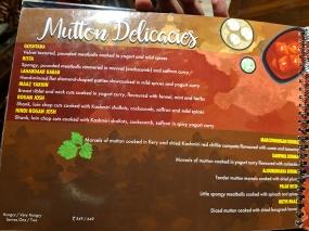 Khyen Chyen, Mutton Delicacies
