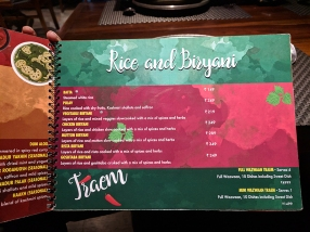 Khyen Chyen, Rice and Biryani