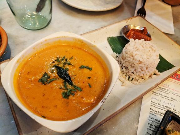 Talli Joe, Konkani seabass curry