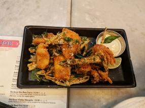 Talli Joe, Seafood and okra kempu