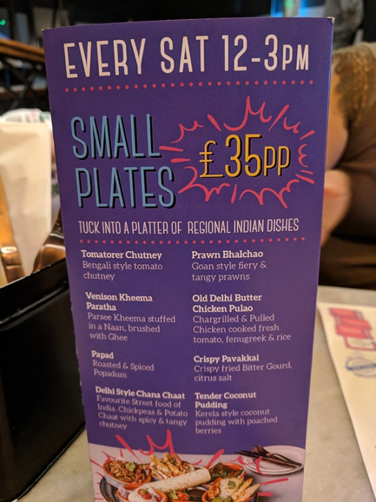 Talli Joe, Small plates