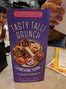 Talli Joe, Tasty Talli Brunch