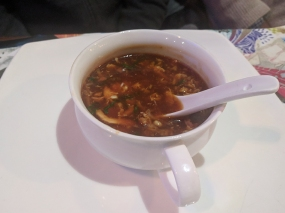 Big Wong, Hot and sour soup