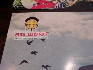 Big Wong, No getting away from it