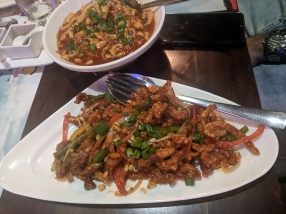 Big Wong, Shredded lamb, Szechuan sauce